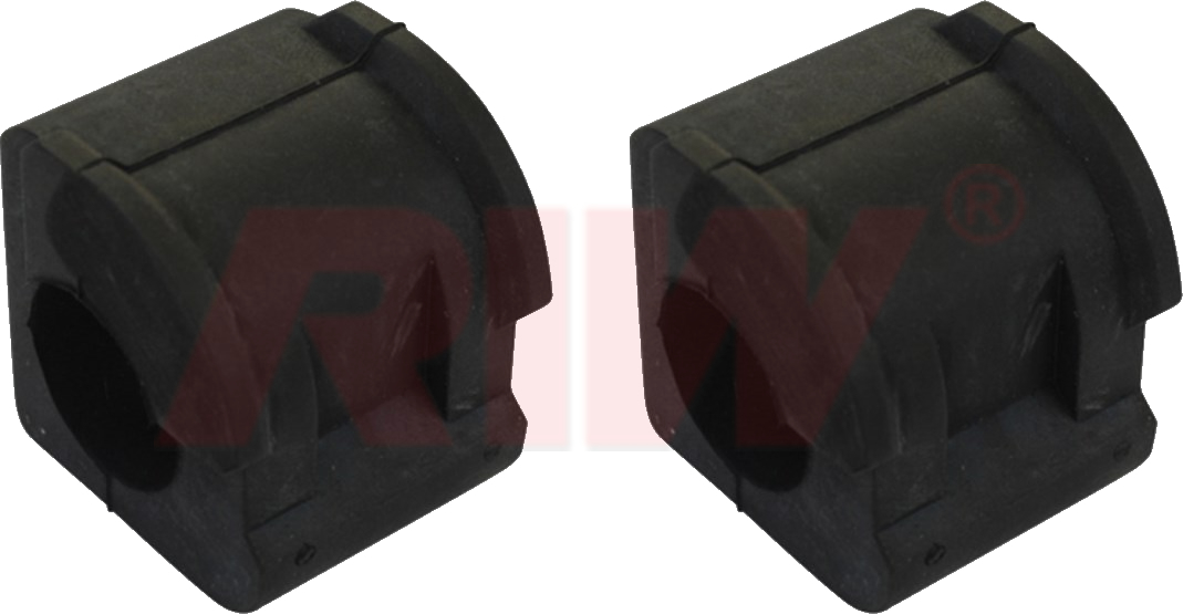 VOLKSWAGEN CADDY Front Left and Right Rubber Group - RIW